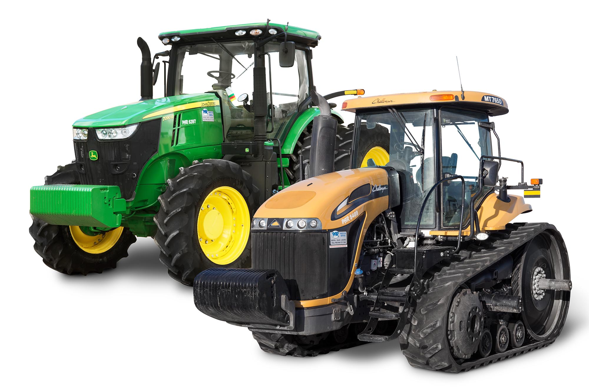 Par Tractor Rentals: Light Tillage